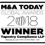 M&A Today Global Awards 2018