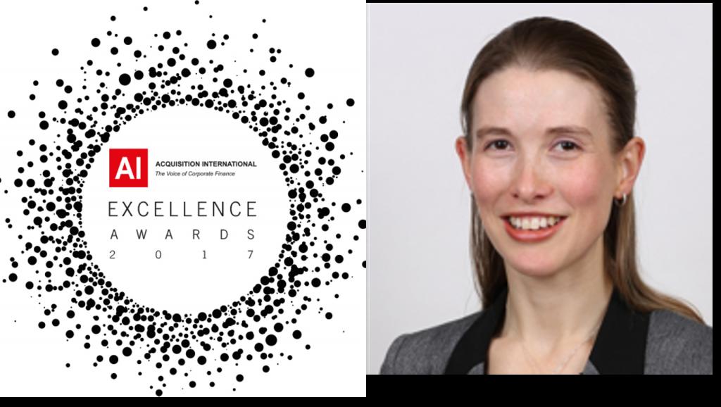 Hannah - Excellence Award 2017