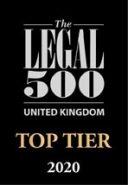 Logo - Legal 500 - Top Tier - 2020