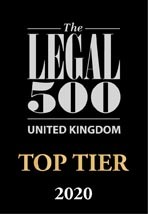 Logo - Legal 500 - Top Tier - 2020